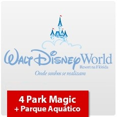 4 Park Magic + Parque Aquático (Oferta Especial)